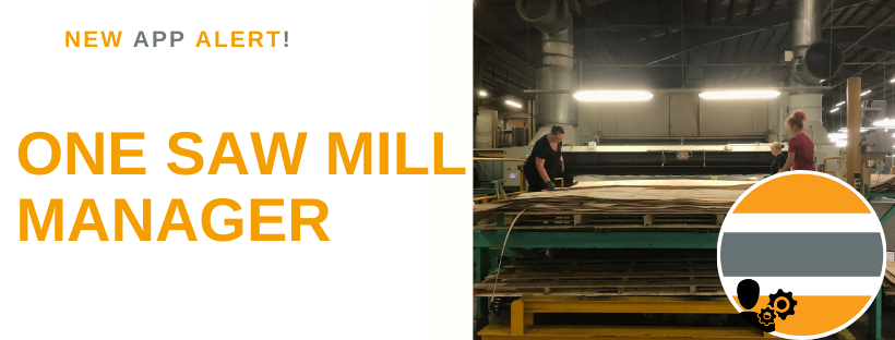New Product TIMBERplus – One – Saw Mill Manager